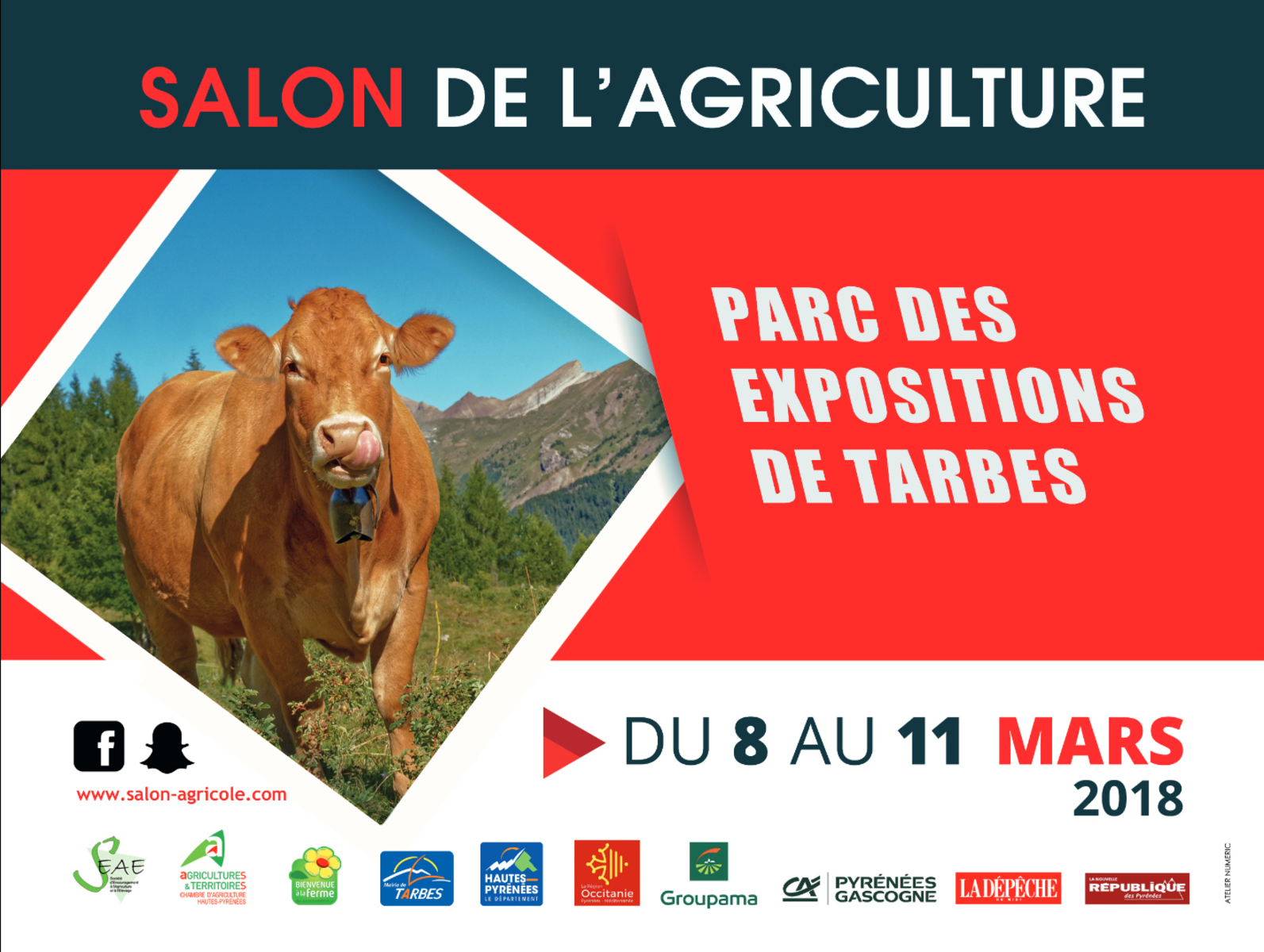 Salon de l 39 agriculture v nements tarbes expo pyr n es for Salon l agriculture