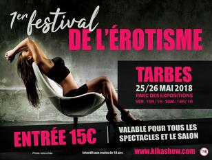 Tarbes Expo Pyrénées Congrès parc des expositions festival érotisme 2018