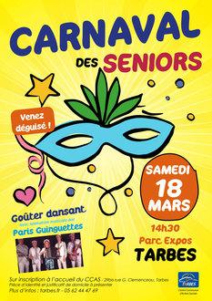 Carnaval des séniors - CCAS Tarbes